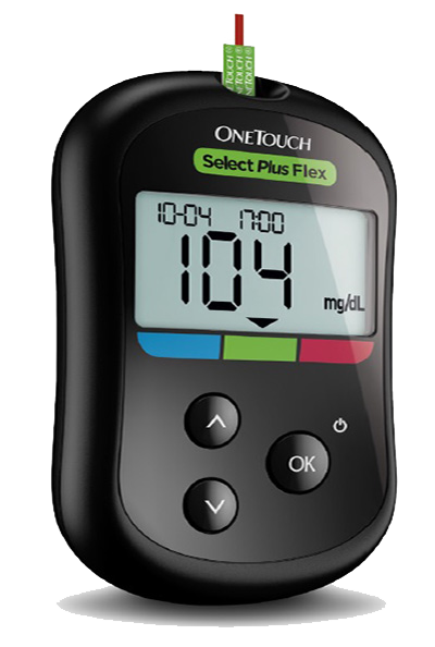 Medidor OneTouch Select Plus Flex®